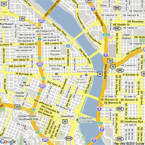 portland oregon on the usa map portland oregon map usa afputra