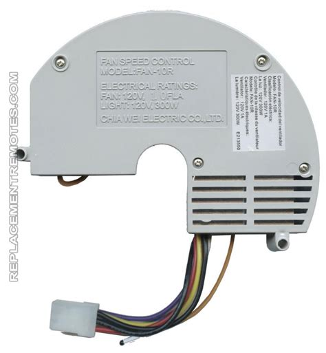 fan receiver replacement buy anderic fan 10r replacement ceiling fan receiver for