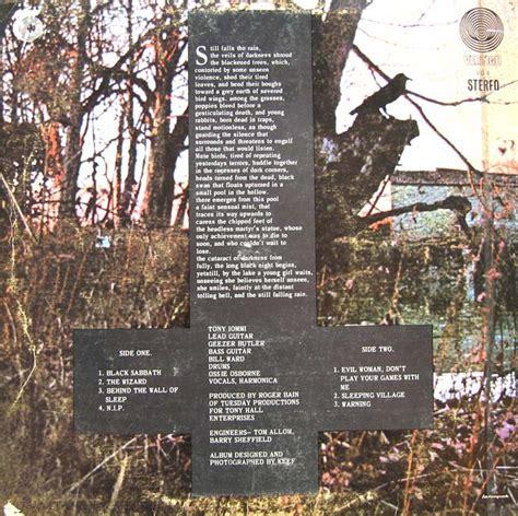 Black Sabbath 6 album covers galore black sabbath black sabbath 1970