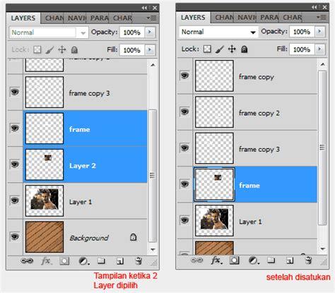 tutorial dasar belajar photoshop tutorial membuat photo efek frame puzzle belajar