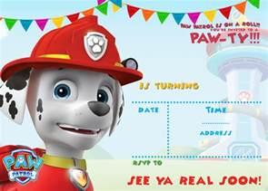paw patrol templates free printable paw patrol birthday invitation ideas