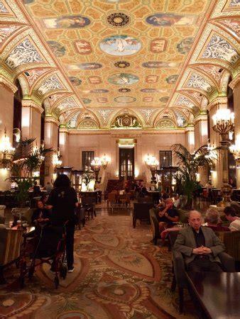 palmer house hilton historic lobby chicago