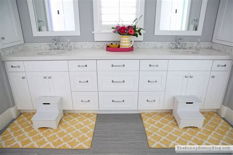 shared bathroom ideas girls bathroom organized drawers the sunny side up blog