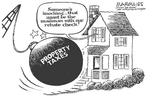 property taxes vs land value taxes