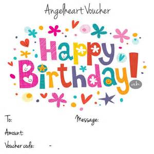 Happy Birthday Voucher Template by Image Gallery Happy Birthday Voucher