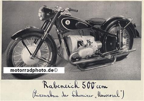Rabeneick Motorrad Modelle by Motormobilia Rabeneick Motorrad Foto