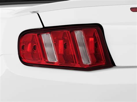 2011 mustang gt tail lights image 2011 ford mustang 2 door convertible premium tail