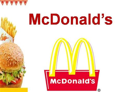 mcdonalds powerpoint template mcdonalds powerpoint template template design
