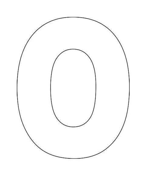 Best Photos of Large Letter O Template - Free Printable ... O