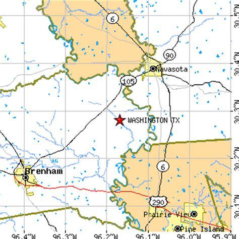 washington texas map washington texas tx population data races housing economy