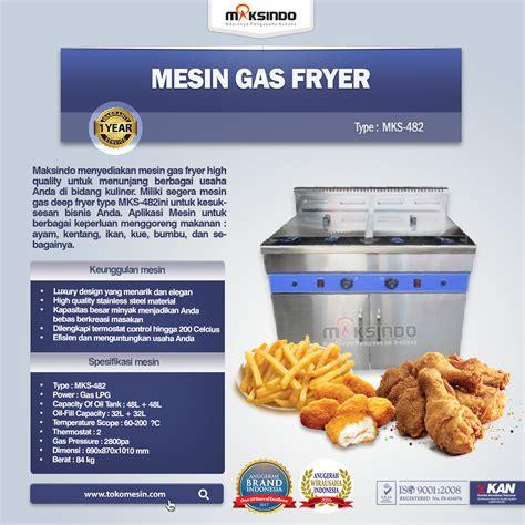 Jual Freezer Box Di Malang jual mesin gas fryer mks 482 di malang toko mesin