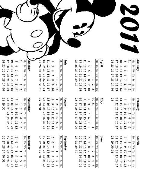 Disney Coloring Pages Calendar   disney coloring pages
