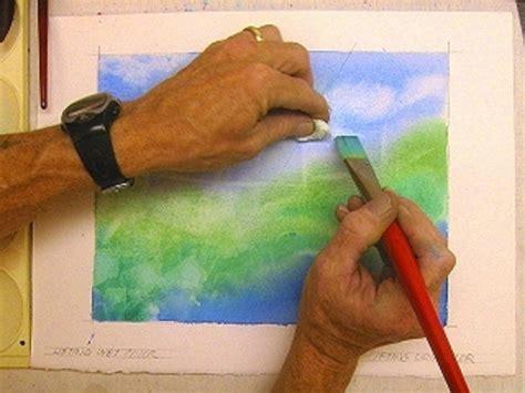 acrylic painting brush techniques watercolor technique 5 ways to lift erase paint