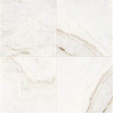 Daltile Marble 18 x 18 Polished Daphne White Polished