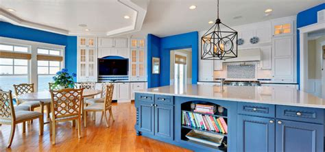 blue kitchen ideas design trend blue kitchen cabinets 30 ideas to get you