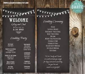 String Lights Wedding Ceremony Cards Wedding By