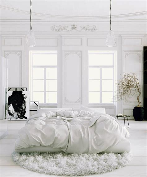 white bedroom with black accents 41 white bedroom interior design ideas pictures