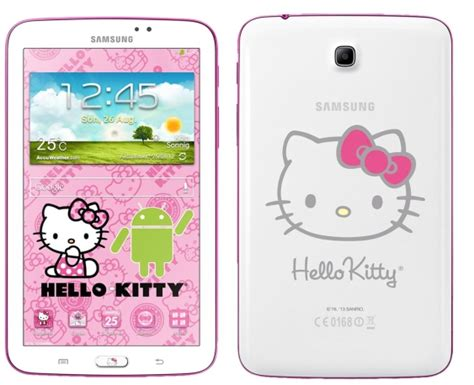 hello kitty wallpaper samsung j1 meet the samsung galaxy tab 3 7 0 hello kitty edition