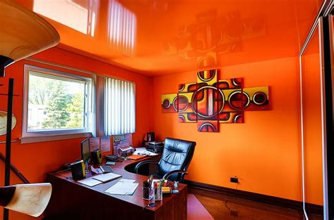 Orange Office by Trend 25 Vibrant Home Offices With Bold Orange Brilliance