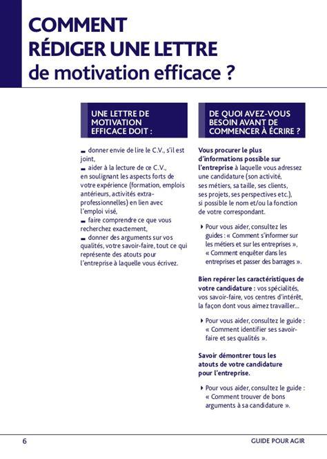 Rédiger Une Lettre De Motivation Vendeuse Comment Rediger Une Lettre De Motivation