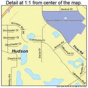 hudson florida map 1232825