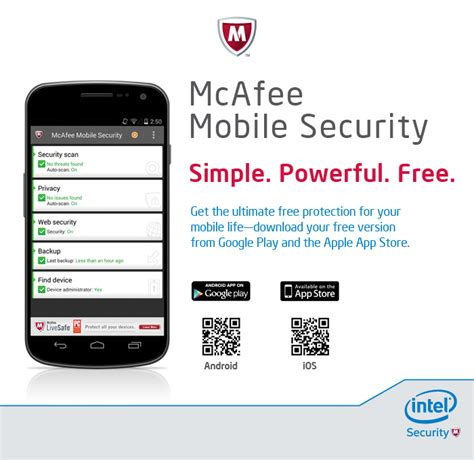 mobile mcafee security new free version of mcafee mobile security mcafee blogs