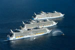 Royal Caribbean Largest Ship History Is Made As 3 Of The World S Largest Cruise Ships