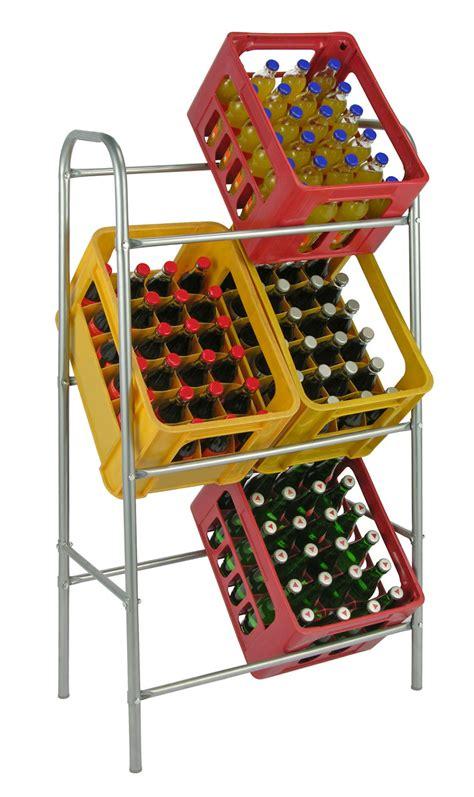 gestell aus kisten kastenst 228 nder 6 kisten silber getr 228 nkekistenregal