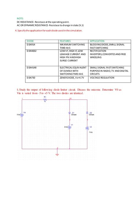 junction diode pn junction diode characteristic