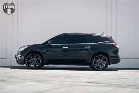Chevrolet Wheels add some style to the chevy traverse with dub wheels