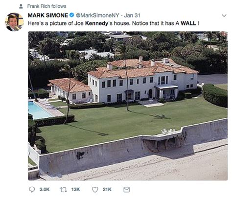 kennedy house joe kennedy s home surrounded by a wall proving his hypocrisy fiction