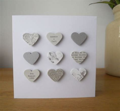 Handmade Silver Wedding Anniversary Cards - 25 best ideas about boyfriend card on