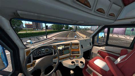 Kenworth T2000 Interior by Kenworth T2000 Truck Simulator 2 Mods