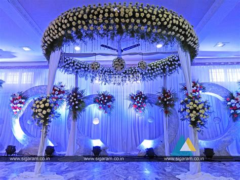 Decoration Reception by Reception Stage Decoration At Annai Periyanayagi Mahal