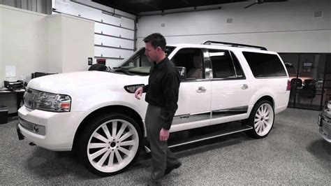 L Black Uses by Used 2010 Lincoln Navigator L Custom Wheels Rogers