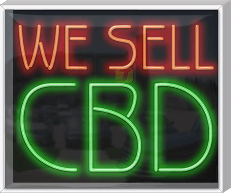 outdoor xl  sell cbd neon sign ss   od jantec neon