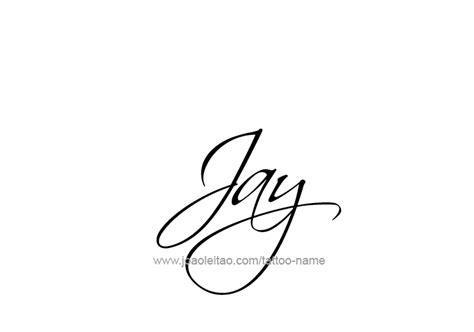 tattoo name jay jay name tattoo designs