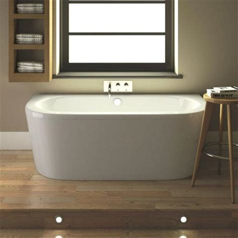 bath panel 1700 x 500 hudson reed ludlow back to wall bath with front panel legset 1700 x 800mm blu002 at