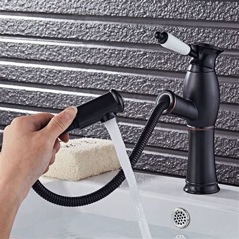 kitchen faucet black finish kitchen faucet pull out cool black painted finish
