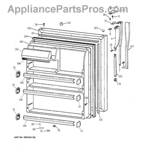 ge refrigerator maker parts diagram refrigerator parts ge refrigerator parts diagram maker