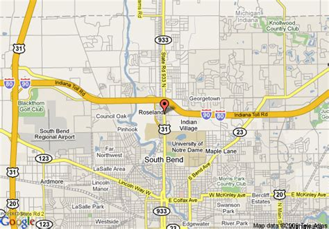notre dame cus map inn express hotel suites south bend notre dame univ south bend deals see hotel