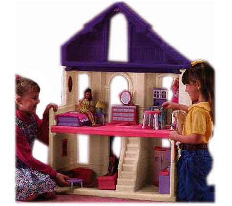 step 2 dollhouse furniture step2 fashion place doll house with furniture qvc