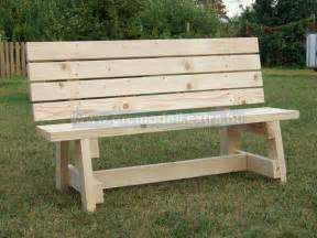 pdf plans plans outdoor benches 2 215 4 sitting bench