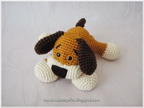 amigurumi patterns easy free amigurumi dog free crochet pattern tutorial by