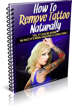 how to remove tattoos naturally designs and templates