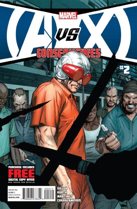 vs x avx consequences vol 1 2 marvel comics database