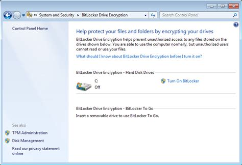 reset windows password encrypted hard drive how to use bitlocker to encrypt your hard drive pcworld