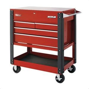 4 Drawer Tool Cart by Waterloo Uc410rd 4 Drawer Utility Cart Heavy Duty Tool