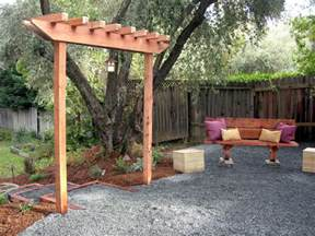 How To Build A Arbor Pergola by How To Build A Redwood Arbor How Tos Diy