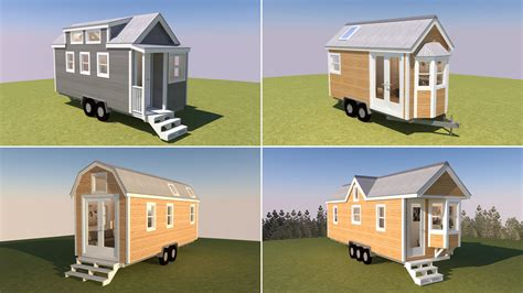 house d 4 new 3d tiny house tour videos